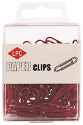 PAPERCLIP LPC 28MM ROOD 100 STUK