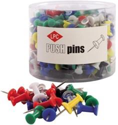 PUSH PINS LPC ASSORTI 200 STUK