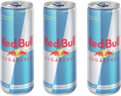 ENERGY DRANK RED BULL SUGAR FREE BLIKJE 0.25L 25 CL