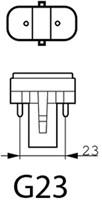 SPAARLAMP PHILIPS MASTER PL-S 9W 830 2P 1 STUK-1