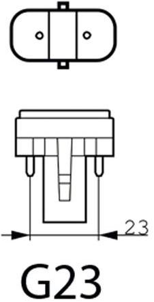 SPAARLAMP PHILIPS MASTER PL-S 11W 830 2P 1 STUK-2