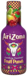FRISDRANK ARIZONA ICED TEA FRUIT PUNCH 0.50L PET 6 STUK