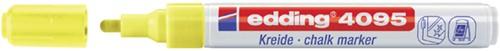 KRIJTSTIFT EDDING 4095 ROND 2-3MM NEON GEEL 1 Stuk