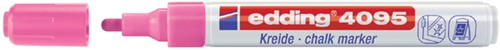 KRIJTSTIFT EDDING 4095 ROND 2-3MM NEON ROZE 1 Stuk