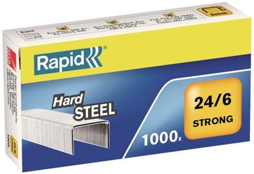 NIETEN RAPID 24/6 STAAL STRONG 1000ST 1000 STUK