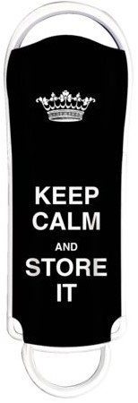 USB-STICK INTEGRAL FD 16GB KEEP CALM ZWART 1 STUK