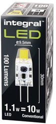 LEDLAMP INTEGRAL G4 1.1W 2700K WARM WIT 1 STUK