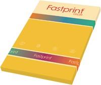 KOPIEERPAPIER FASTPRINT-100 A4 80GR GOUDGEEL 100 VEL