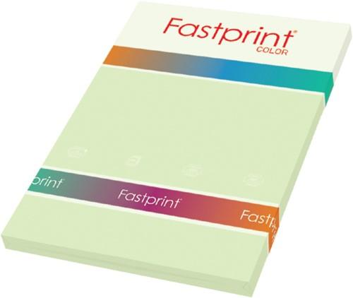 KOPIEERPAPIER FASTPRINT-100 A4 120GR LICHTGROEN 100 VEL
