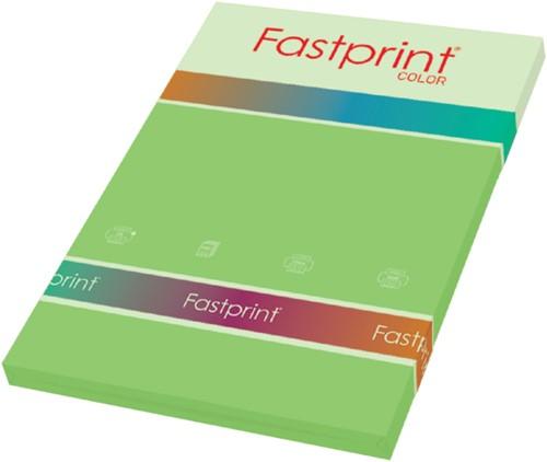 KOPIEERPAPIER FASTPRINT-100 A4 80GR HELGROEN 100 VEL