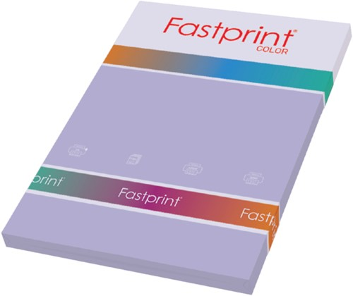 KOPIEERPAPIER FASTPRINT-100 A4 120GR LILA 100 VEL