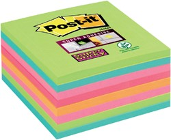 MEMOBLOK 3M POST-IT 654-SSRB 76X76MM RAINBOW 8 STUK