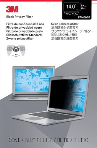 "PRIVACY FILTER 3M 14.0"" WIDE RATIO 16.9 1 Stuk"