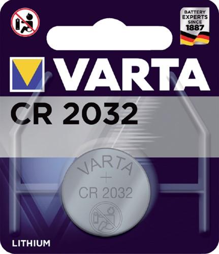 BATTERIJ VARTA CR2032 LITHIUM 1 STUK