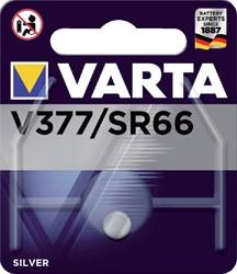 BATTERIJ KNOOPCEL VARTA V377 HORLOGE 1 STUK