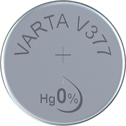 BATTERIJ KNOOPCEL VARTA V377 HORLOGE 1 STUK-2