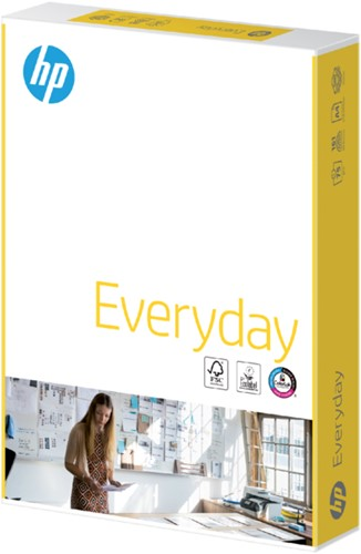 KOPIEERPAPIER HP EVERYDAY A4 75GR WIT 500 VEL