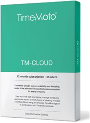 SAFESCAN TIMEMOTO TM-CLOUD 25 USER SUBSCRIBTION 1 STUK