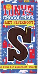TONY'S CHOCOLONELY PUUR PEPERNOOT S 180GR 1 STUK