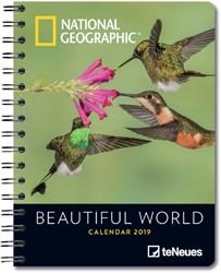 AGENDA 2019 TENEUES NG BEAUTIFUL WORLD 16.5X21.6 1 STUK