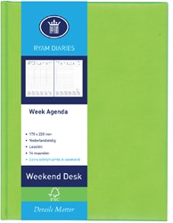 AGENDA 2019 RYAM WEEKPLAN WEEKEND ASS 1 STUK