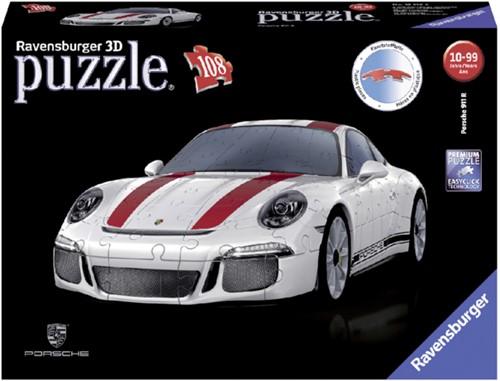 PUZZEL 3D RAVENSBURGER PORSCHE 911R 108ST 1 STUK
