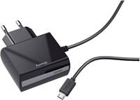 OPLADER HAMA MICRO USB 1.2A ZWART 1 STUK-3