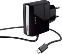OPLADER HAMA MICRO USB 1.2A ZWART 1 STUK