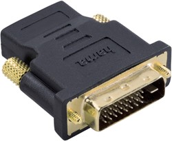 ADAPTER HAMA DVI/M-HDMI/F ZWART 1 STUK