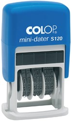 DATUMSTEMPEL COLOP S120 MINI-DATER 4MM 1 STUK