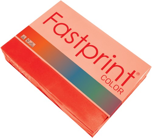 KOPIEERPAPIER FASTPRINT A4 120GR FELROOD 250 VEL