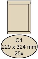 ENVELOP CLEVERMAIL AKTE C4 229X324 120GR 25ST CREME 25 STUK