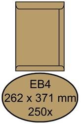 ENVELOP QUANTORE AKTE EB4 262X371 100GR BRUINKRAFT 250 STUK