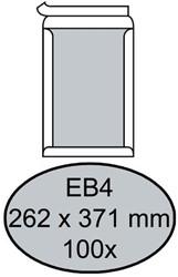 ENVELOP QUANTORE BORDRUG EB4 262X371 ZK 120GR WIT 100 STUK
