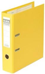 ORDNER ELBA RADO PLAST A4 80MM PVC GEEL 1 STUK