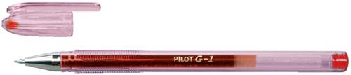GELSCHRIJVER PILOT BL-G1-5 0.32MM ROOD 1 Stuk