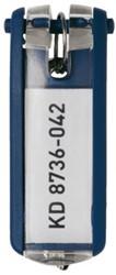 SLEUTELLABEL DURABLE MET RING BLAUW 1 STUK
