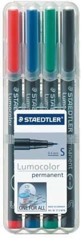 VILTSTIFT STAEDTLER OHP LUMO SF 313 PERM WP4 4 STUK