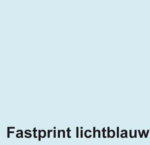 RECEPTPAPIER FASTPRINT A6 80GR LICHTBLAUW 2000 VEL
