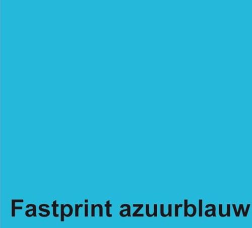 KOPIEERPAPIER FASTPRINT-50 A4 160GR AZUURBLAUW 50 VEL-2