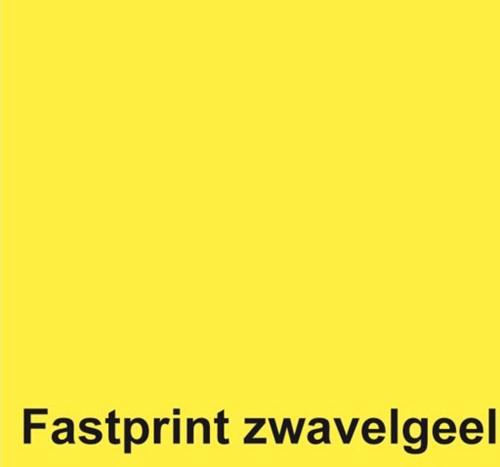 KOPIEERPAPIER FASTPRINT A4 80GR ZWAVELGEEL 500 VEL-2