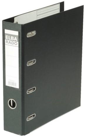 ORDNER ELBA RADO PLAST A4 75MM BANK 2MECH PVC ZW 1 STUK
