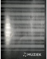 MUZIEKSCHRIFT A5 80GR 36BLZ 1 STUK