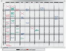 PLANBORD LM 90X120CM JAARPLANNER HORIZONTAAL 1 STUK