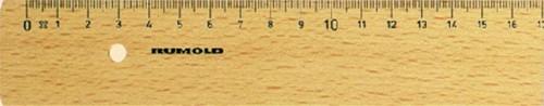 LINIAAL RUMOLD FL230/30 HOUT 30CM 1 Stuk