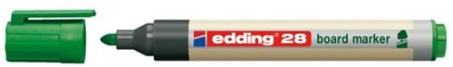 VILTSTIFT EDDING 28 WHITEBOARD ECO ROND 1.5-3MM GN 1 STUK