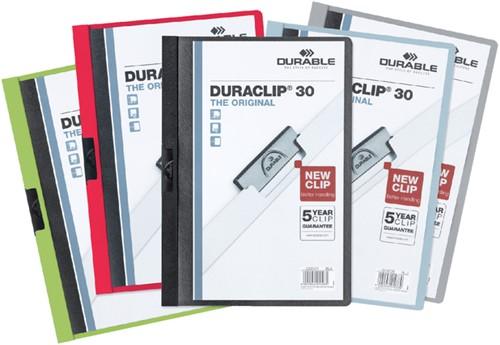 KLEMMAP DURABLE 2200 A4 PL/TR 3MM ASS 1 Stuk