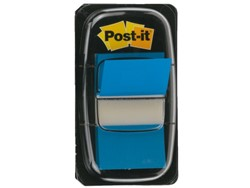 INDEXTABS 3M POST-IT 6802 25MM BLAUW 50 STUK