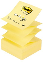 MEMOBLOK 3M POST-IT Z-NOTE R330 GEEL 100 VEL
