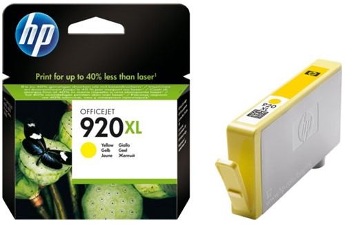 INKCARTRIDGE HP 920XL CD974AE HC GEEL 1 STUK